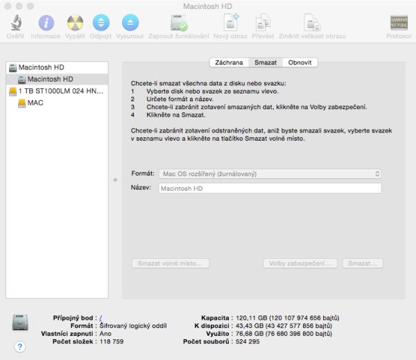 Jak Na Instalaci OS X Yosemite (návod)