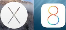 Apple vydal iOS 8.1.3 a OS X 10.10.2 Yosemite