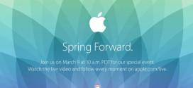 Apple pořádá 9. března Apple event