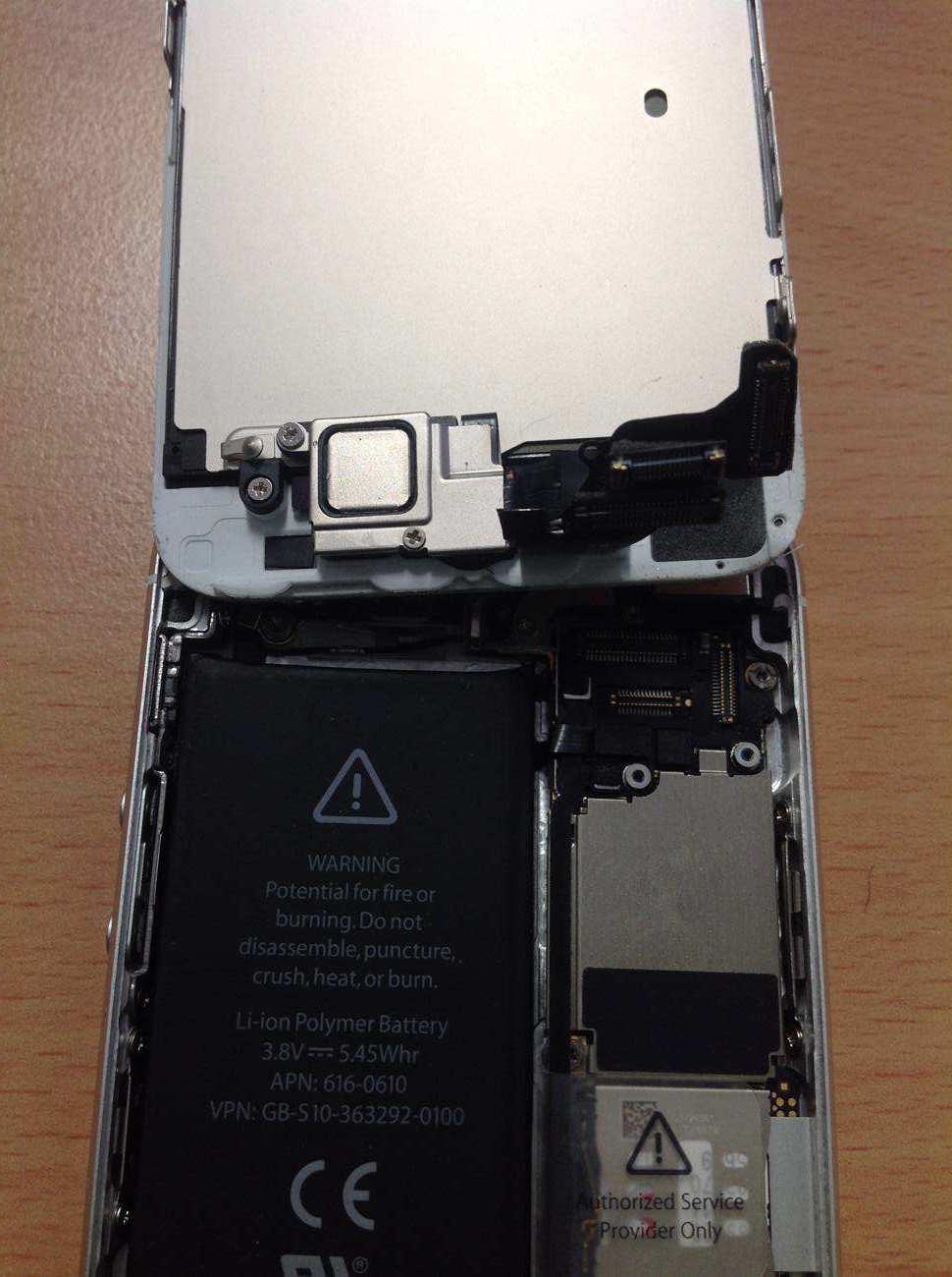 Výměna základní desky iphone 5s
