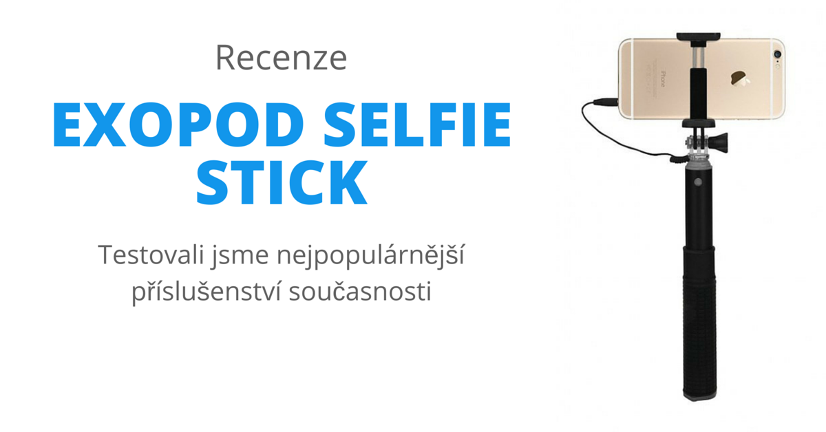 exopod selfie stick povinn v bava pro v echny self k e appli t. Black Bedroom Furniture Sets. Home Design Ideas