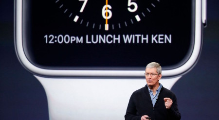 Apple Watch - březnová konference