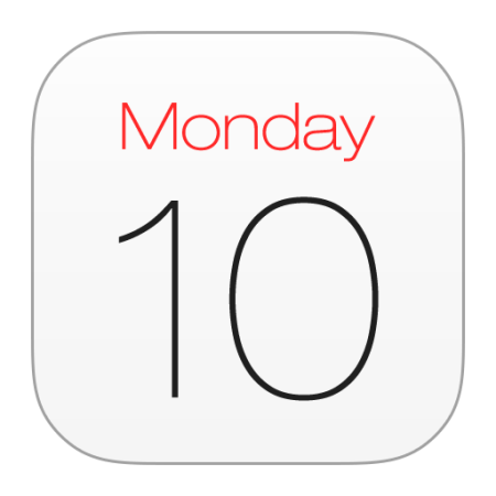 Kalendář, spam