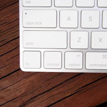 klávesové zkratky v OS X