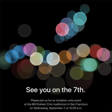 iPhone 7 Event, představení nových produktů
