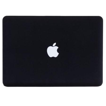 MacBook svítící jablíčko