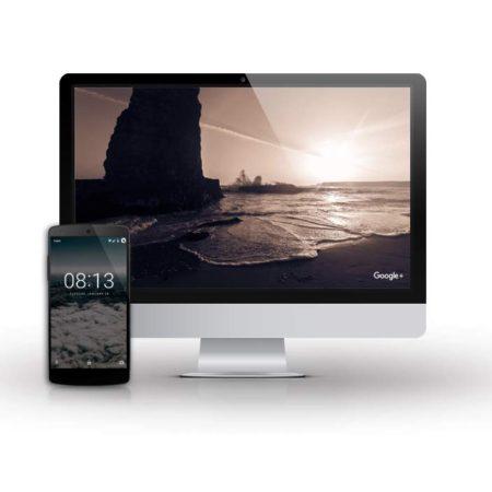 spořič obrazovky pro Mac