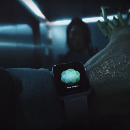 Apple Watch reklamy