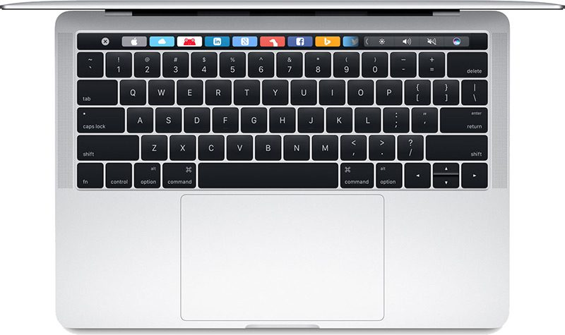 MacBook Pro Touch Bar 2016