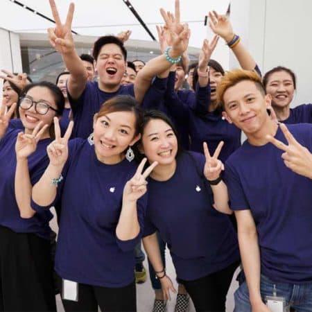 Apple Store Tchaj-pej 101