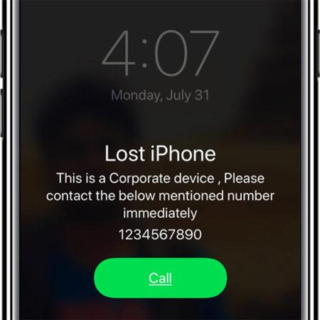 Jak zablokovat iPhone