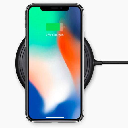 iPhone X, bezdrátové nabíjení