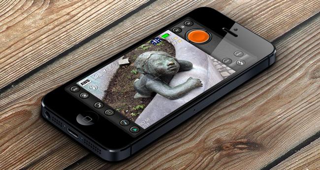 Pureshot Improving iOS Camera Application - PureShot – profesionál pro fotografy