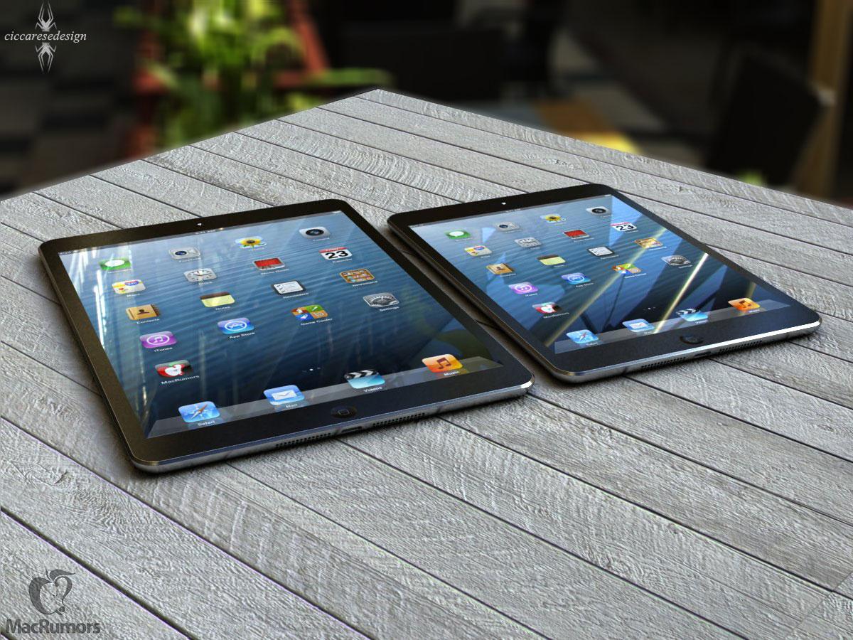 Spekulace: iPad 5 se bude podobat iPadu mini | Appliště