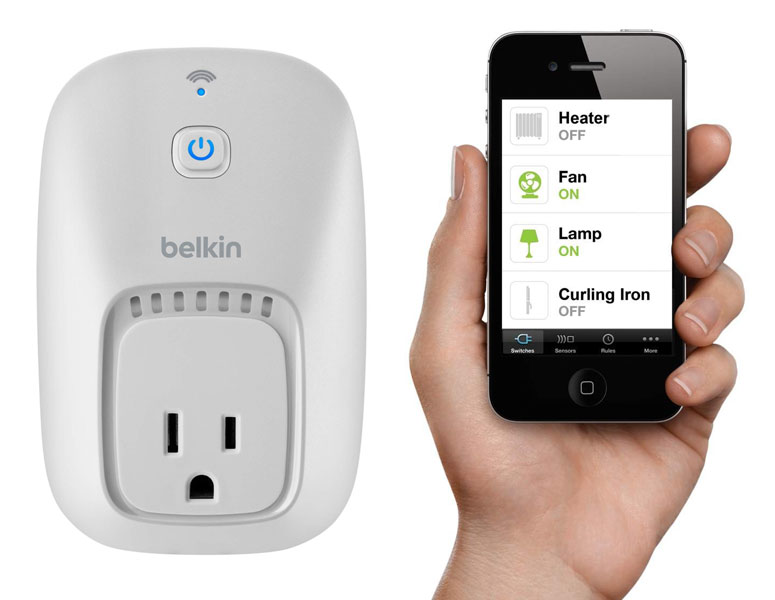 belkin wemo app controlled home automation switches xl - Belkin WeMo SWITCH (recenze)