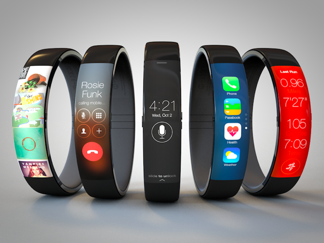 iwatch concept nike - Nové snímky iOS 8 odhalují Healthbook, Preview a TextEdit