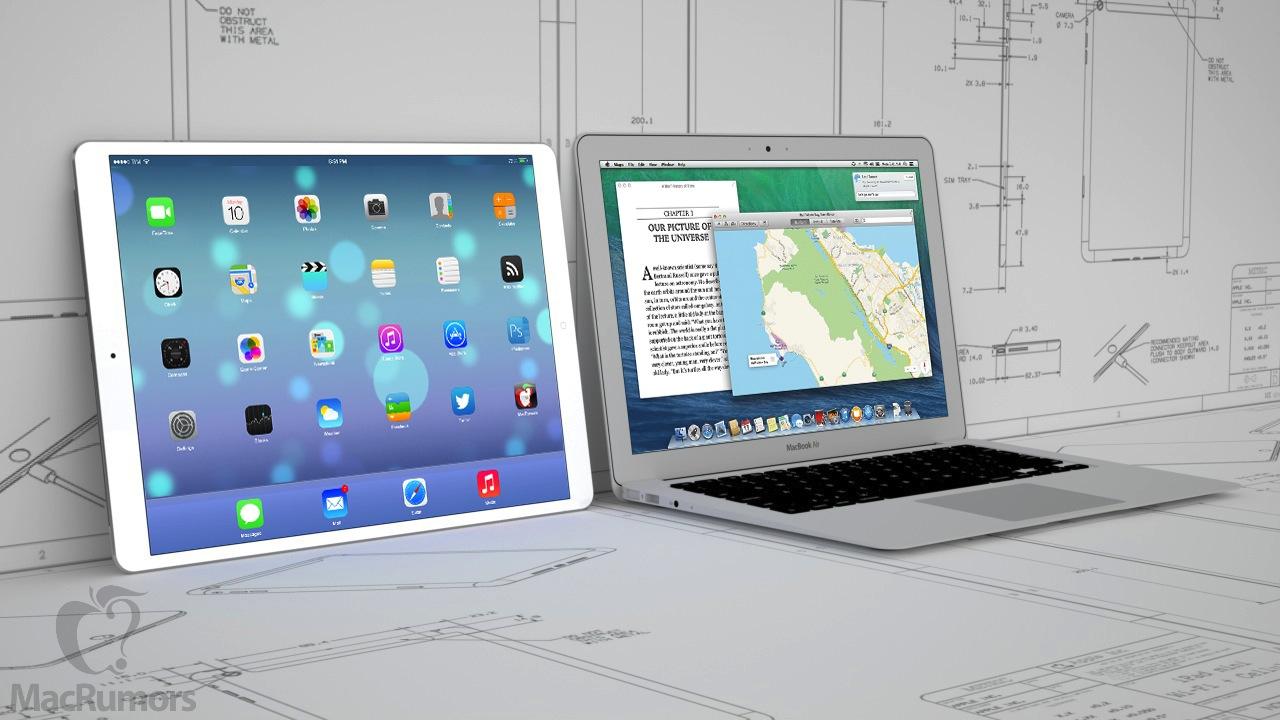 12 9 ipad macbook air - iPad Pro se zatím vyrábět nebude