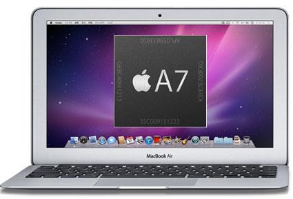 macbookair a7 - Apple prý testuje prototypy Maců s ARM procesorem a větším trackpadem