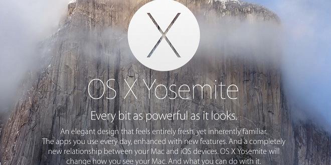 OS X Yosemite nahled - WWDC 2014: Nový systém OS X 10.10 Yosemite