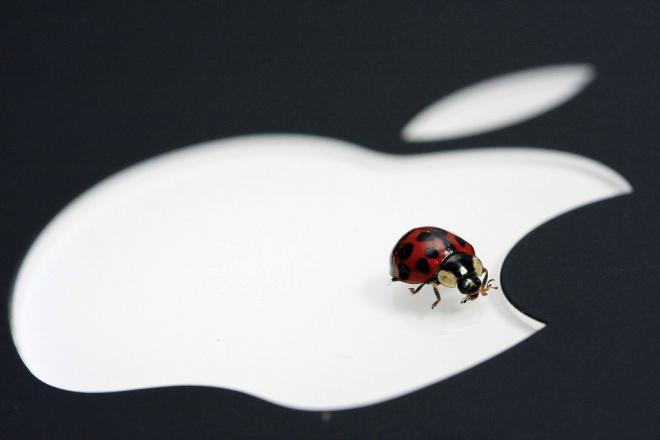 apple bug logo e1416909279321 - WWDC 2014: Nový systém OS X 10.10 Yosemite