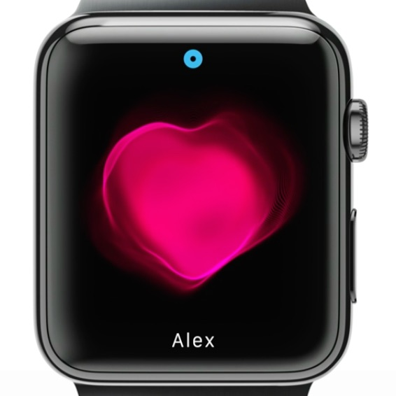 apple watch heart - Futuristické snění o Apple Watch