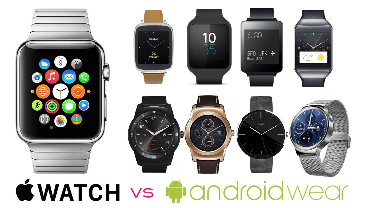 apple watch comparison