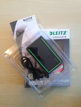 Mobilní nabíječka Leitz