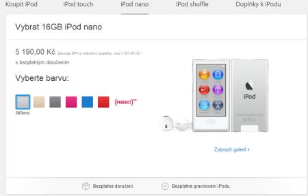 Nové iPody - iPod Nano