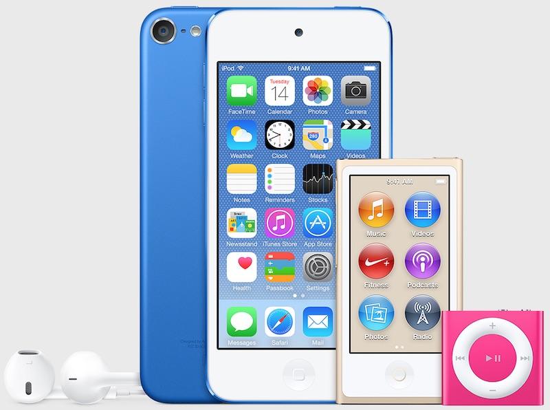iPod touch možná dostane 7. generaci