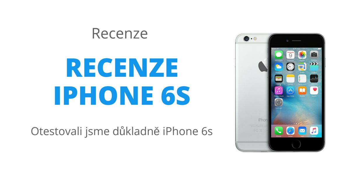 Recenze iPhone 6s - revoluční v mnoha ohledech 9056f8cf419