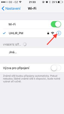 Wi Fi 254x450 - Jak na iOS opravit problémy s Wi-Fi připojením