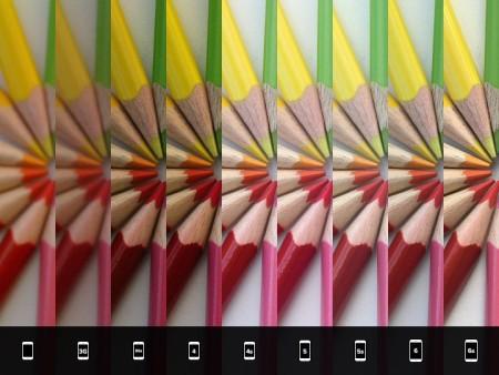 Porovnání kvality pořízených fotografií různými modely iPhonu