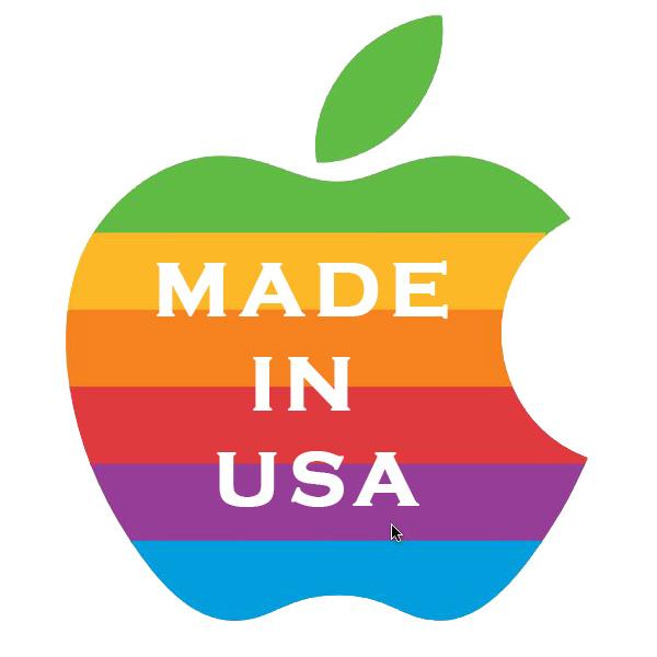 data rumor apple made in usa logo - Donald Trump chce přinutit Apple, aby své produkty vyráběl na území USA