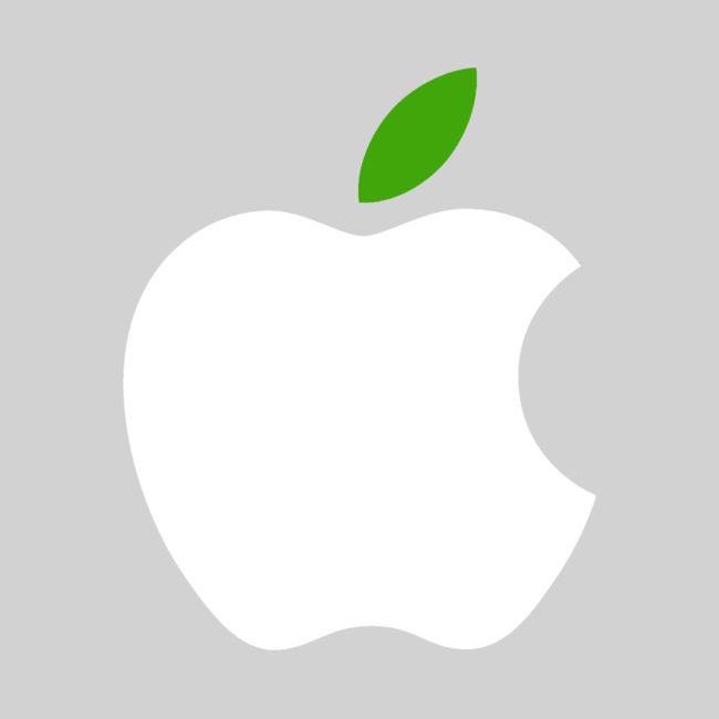 apple logo e1461431299209 - Apple vydal reklamu týkající se obnovitelných zdrojů energie