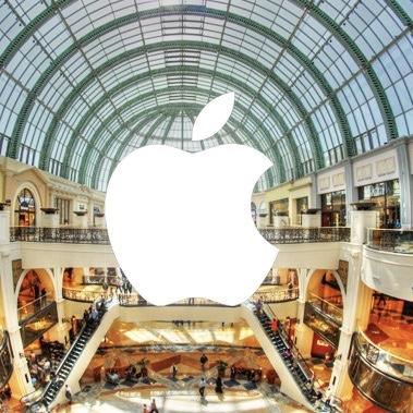 Návštěva Apple Storu v Dubaji