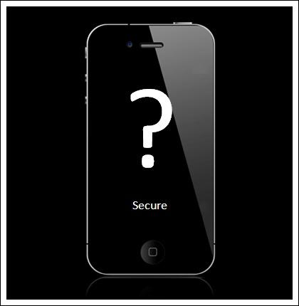 iphonesecurity - Prolomit iPhone je lehké, tvrdí indický ministr telekomunikací
