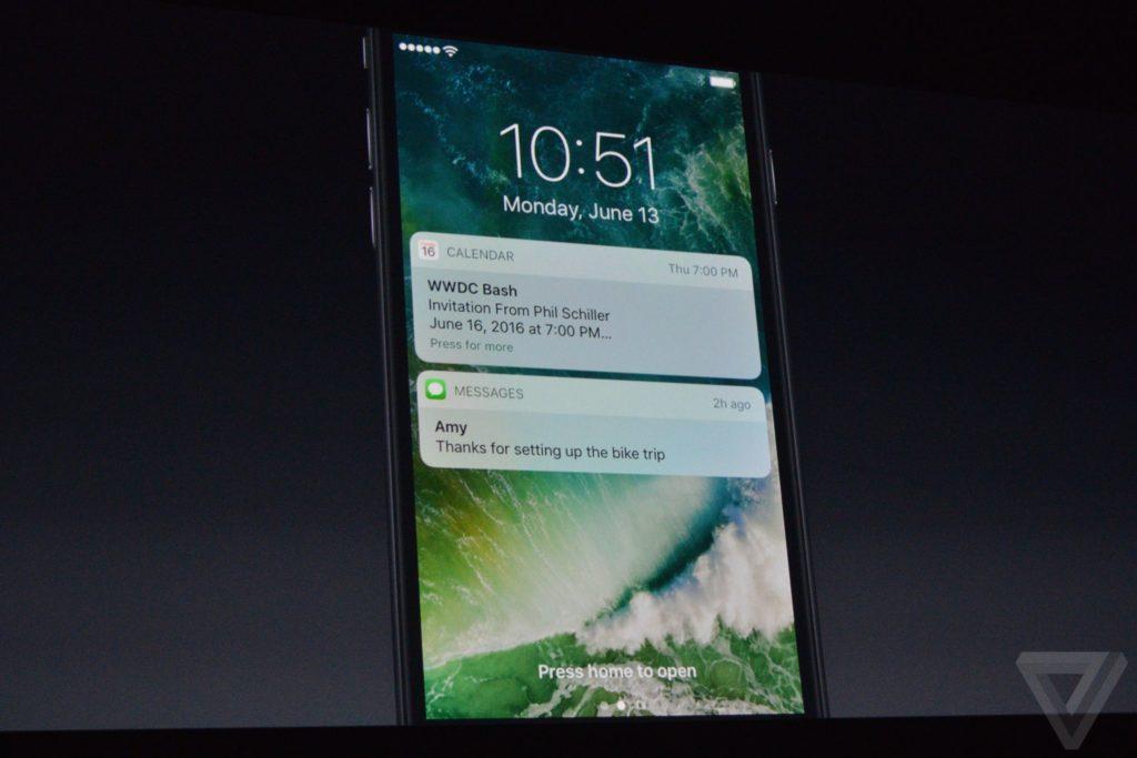 Nová lock obrazovka