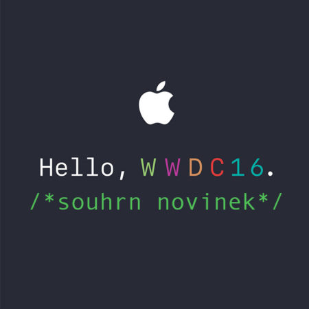 Souhrn WWDC 2016