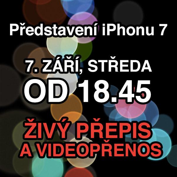 Ptejte se našich hostů - iPhone 7 Event