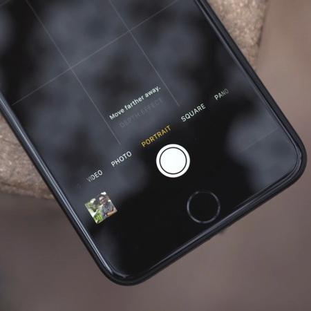 iPhone 7 Plus portrét