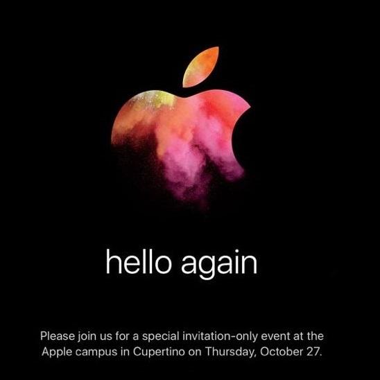 Představení nových MacBooků, hello again, Apple Special Event
