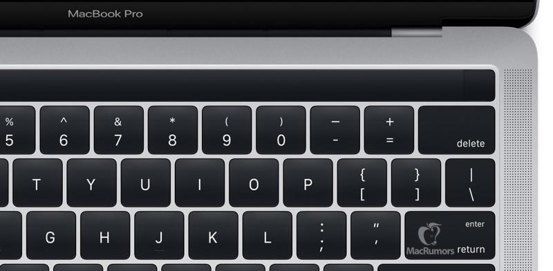 Magic Toolbar MacBook Pro