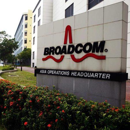 Broadcom bezdrátové nabíjení