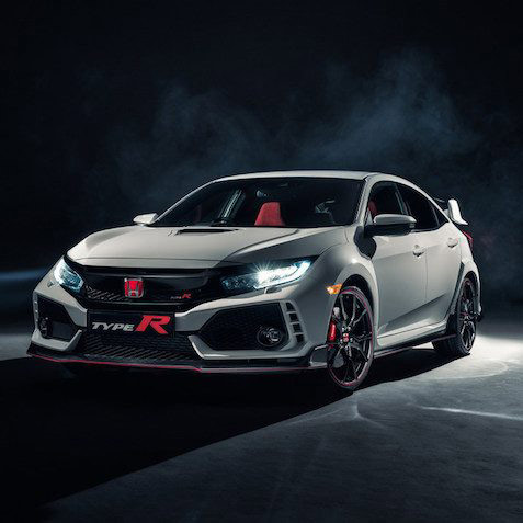 Honda Civic Type R 2017 CarPlay