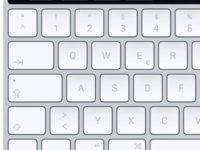 Externí klávesnice s Touch Barem
