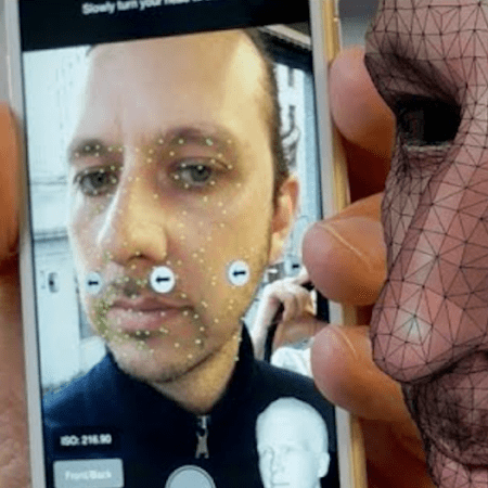 Touch ID rozpoznání obličeje