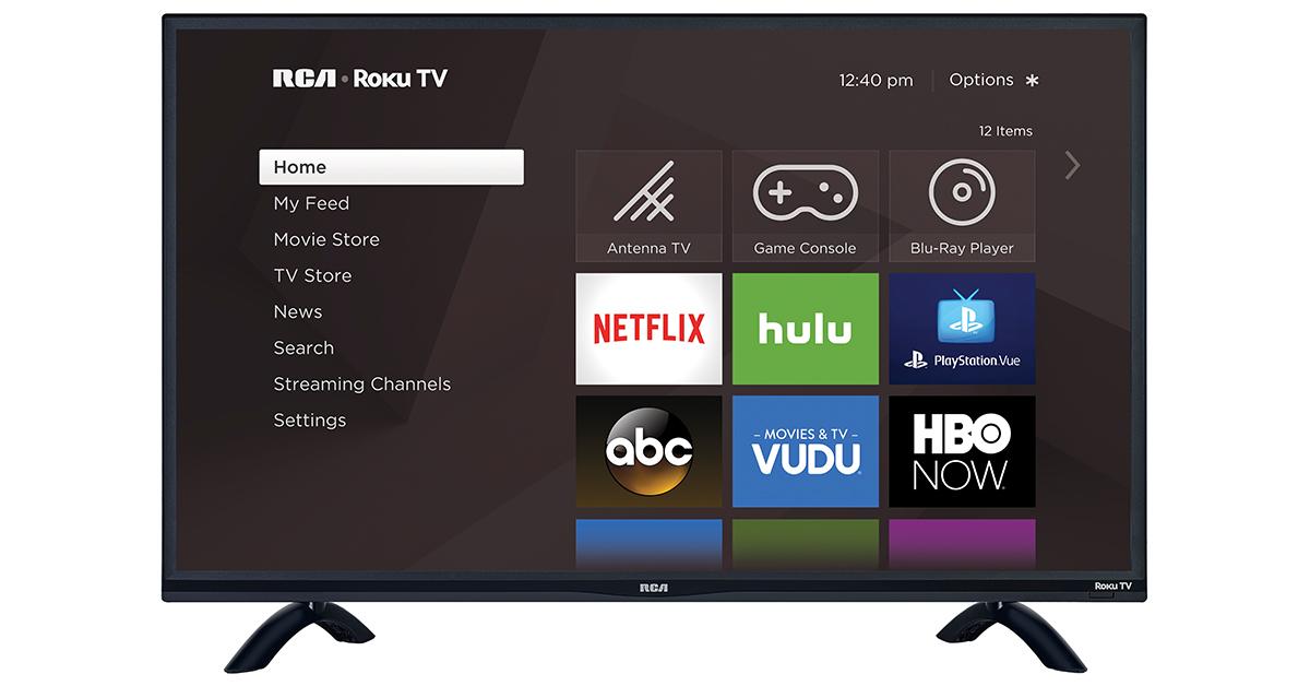RCA Roku TV US model FB - Roku TV představuje konkurenci pro Apple TV 4K