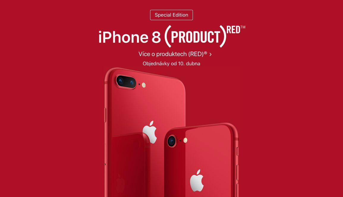 Snímek obrazovky 2018 04 09 v 19.39.06 - Apple představil iPhone 8 a iPhone 8 Plus z edice (PRODUCT)RED