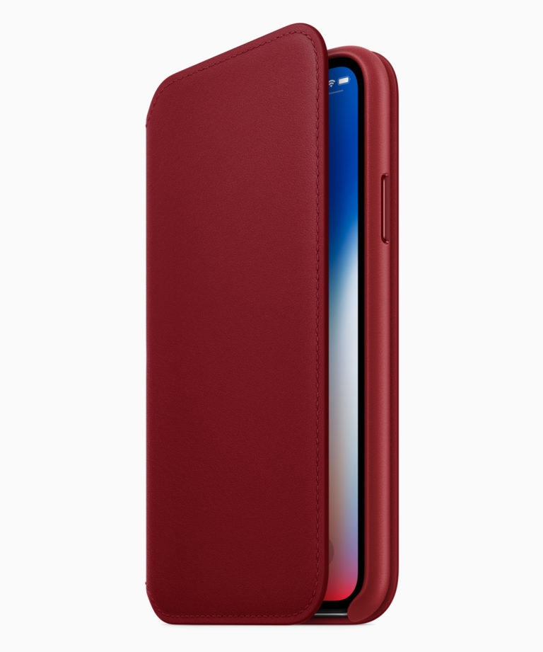 iPhone8 iPhone8PLUS PRODUCT RED Folio Case 041018 768x921 - Apple představil iPhone 8 a iPhone 8 Plus z edice (PRODUCT)RED