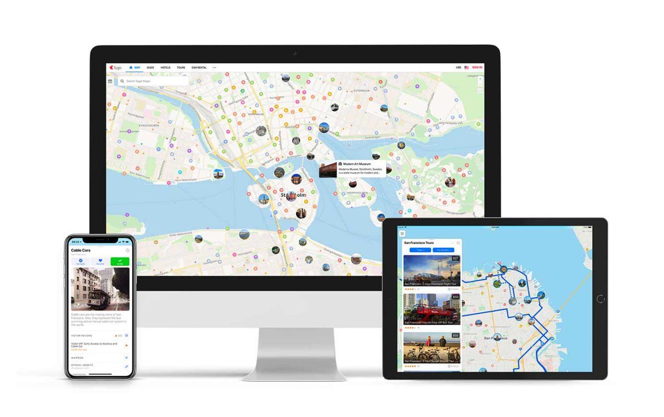 Sygic spustil Sygic Maps, první mapy na světě zaměřené na